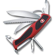 Нож перочинный Victorinox RangerGrip 58 Hunter 0.9683.MC (130мм, 13 функций, красно-чёрный)