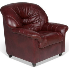 Кресло СМК Шарлотта 045 1х Тт Фиссато Оксблад+к/з бордо