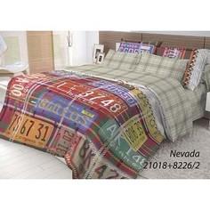 Комплект постельного белья Волшебная ночь Евро, ранфорс, Nevada с наволочками 50x70 (702164)