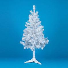 Елка искусственная Snowmen бело-серая 120см (Е50452)