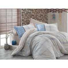 Комплект постельного белья Hobby home collection 2-х сп, поплин, Carmela, бежевый (1607000015)