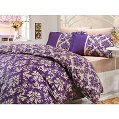 Комплект постельного белья Hobby home collection 1,5 сп, поплин, Avangarde, фиолетовый (1501000053)