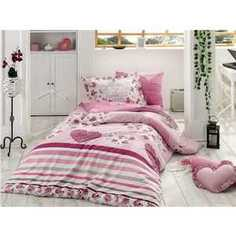 Комплект постельного белья Hobby home collection Семейный, поплин, Bella, фиолетовый (1501000975)