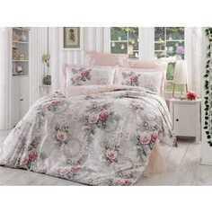 Комплект постельного белья Hobby home collection 2-х сп, поплин, Clementina, светло-розовый (1501000902)