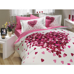 Комплект постельного белья Hobby home collection 1,5 сп, поплин, Juana, лиловый (1501000665)