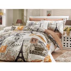 Комплект постельного белья Hobby home collection 2-х сп, поплин, Vicenta, кремовый (1501000907)