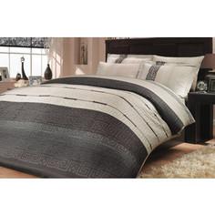Комплект постельного белья Hobby home collection Семейный, сатин, Denim, серый (1501000302)
