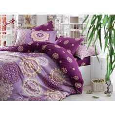 Комплект постельного белья Hobby home collection Евро, сатин, Ottoman, фиолетовый (1501000949)