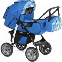 Коляска-трансформер Marimex Sport (синий/голубой с принтом) GL000035300