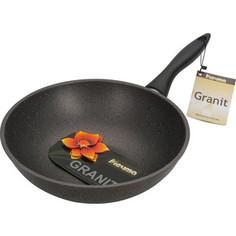 Сковорода-вок d 28 см Мечта Гранит (78701)