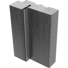 Стойка коробки VERDA экошпон с уплотнителем 2150х70х35 мм Дуб графит вералинга