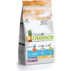 Сухой корм Trainer Fitness3 No Gluten Mini Puppy&Junior Salmon&Rice с лососем и рисом для щенков и юниоров мелких пород 2кг