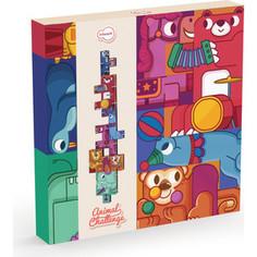 Krooom Игрушки из картона: 3D пазл - головоломка Цирк (k-801)