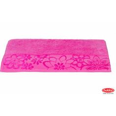 Полотенце Hobby home collection Dora 100x150 см темно-розовый (1501000432)