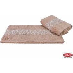 Полотенце Hobby home collection Sidelya 50x90 см коричневый (1501001024)