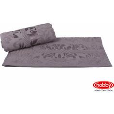 Полотенце Hobby home collection Versal 100x150 см серый (1607000093)