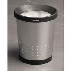 Корзина для бумаг коническая 5 л Brabantia (364303) матовая сталь