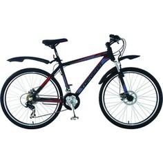 Top Gear Велосипед 26 Forester 415AL, 21 скорость, черный/красный (ВН26356)