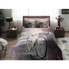Комплект постельного белья TAC 2-х сп, сатин, Sunshine, розовый (3081-15612)