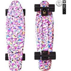RT 401G-R Скейтборд Fishskateboard Print 22 винил 56,6х15 с сумкой Rhombus