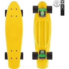 RT 402-G Скейтборд Big Fishskateboard 27 винил 68,6х19 с сумкой GREEN/black