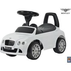 RT 326 Каталка-автомобиль Bentley с музыкой - белый