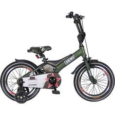 Velolider RA16 2-х колесный велосипед 16 RUSH ARMY хаки