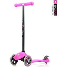 Y-Scoo Самокат RT GLOBBER My free FIXED pink с блокировкой колес