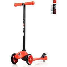 Y-Scoo Самокат RT GLOBBER My free FIXED red с блокировкой колес