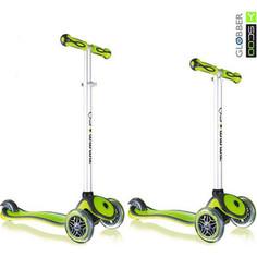 Y-Scoo Самокат RT GLOBBER My Free NEW Technology green с блокировкой колес