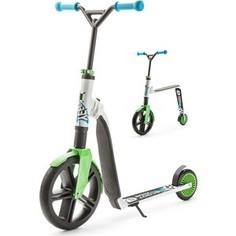Scoot and Ride Самокат-беговел трансформер Highway Gangster 2 в 1 бело-зеленый (29095/цв 29185)