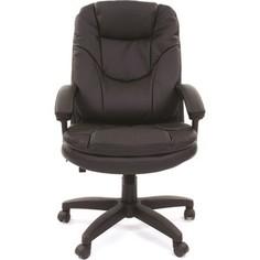 Офисное кресло Chairman 668 LT Россия экопремиум черный