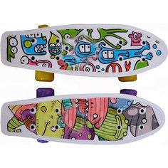 Скейтборд Action CMW019 пластиковый 17x5 Action!