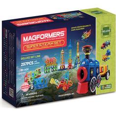 Магнитный конструктор Magformers Super Steam set (710009)