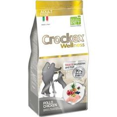 Сухой корм Crockex Wellness Adult Mini Chicken Meat & Vegetables & Fructs с курицей и рисом для собак мелких пород 7,5кг (MCF2707)