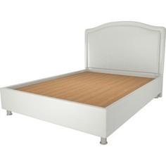Кровать OrthoSleep Калифорния жесткое основание белый 200х200
