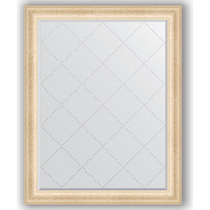 Зеркало с гравировкой Evoform Exclusive-G 95x120 см, в багетной раме - старый гипс 82 мм (BY 4355)