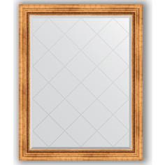 Зеркало с гравировкой Evoform Exclusive-G 96x121 см, в багетной раме - римское золото 88 мм (BY 4361)