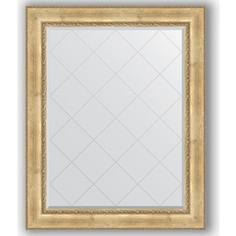 Зеркало с гравировкой Evoform Exclusive-G 102x127 см, в багетной раме - состаренное серебро с орнаментом 120 мм (BY 4385)