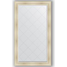 Зеркало с гравировкой Evoform Exclusive-G 99x174 см, в багетной раме - травленое серебро 99 мм (BY 4418)
