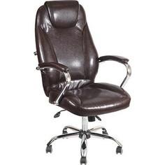 Кресло Алвест AV 122 CH (04) СХ экокожа 221 шоколад