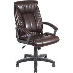 Кресло Алвест AV 124 PL (681Н) МК эко кожа 221 шоколад
