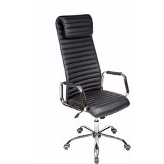 Кресло Алвест AV 131 CH(131)СХ экокожа 223 черная