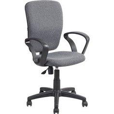 Кресло Алвест AV 202 PL (684) ткань 415 серая с черной ниткой