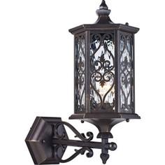 Уличный настенный светильник Maytoni S102-45-01-R