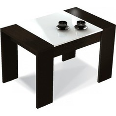 Журнальный стол Sheffilton 210 черный/белый матовый