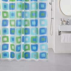 Штора для ванной Milardo Wonderful Cubes 180x180 см (506V180M11)