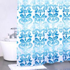 Штора для ванной Milardo Turkush blue 180x200 см (920P180M11)