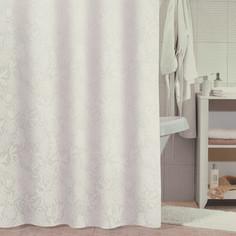 Штора для ванной Milardo White Shadows 180x180 см (830P180M11)