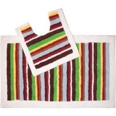 Набор ковриков для ванной IDDIS Pallete 70x120 и 50x50 см (440C512i13)
